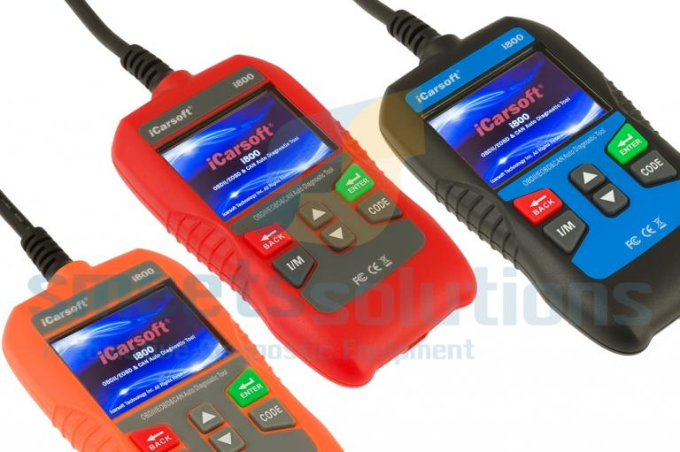 iCarsoft i800 Universele OBD2 Scanner