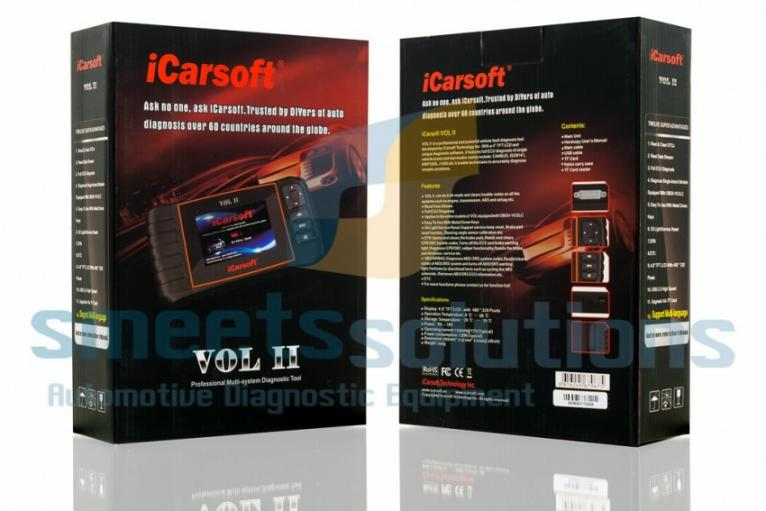 iCarsoft VOL II Scanner