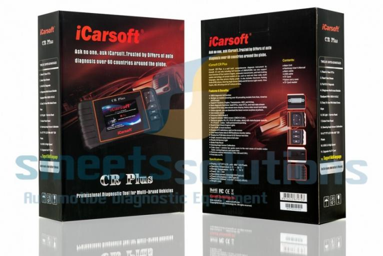 iCarsoft CR Plus Diagnose