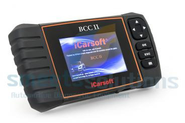 iCarsoft BCC II GM, Chrysler en Jeep