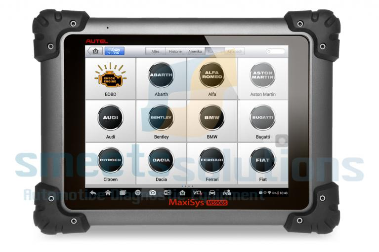 MaxiSYS MS908S tablet